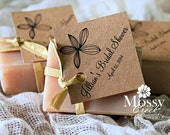 Personalized Soap Bridal Favors