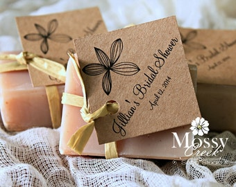 Personalized Soap Bridal Favors