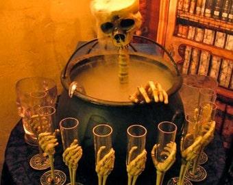 Eerie Elegance - Frightful Skull Fountain Kit