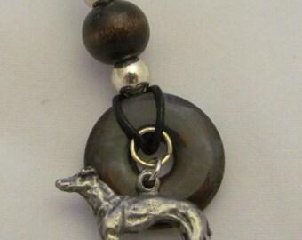 Greyhound Stone Circle Necklace