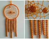 Basic Basketball Dream Catcher - 4 inches in diameter