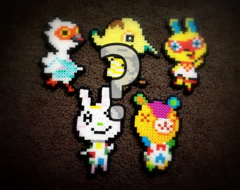 Starter Village - 5 Randomly Selected Villager Sprites - Welcome to Animal Crossing!