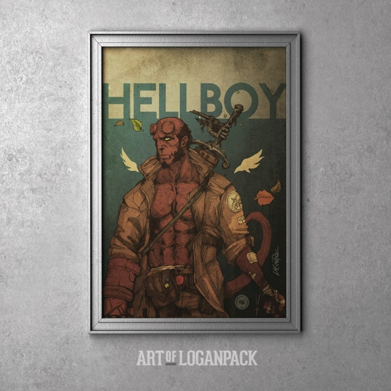 Hellboy - Original Art Poster