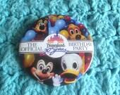 Disneyland 30th anniversary button