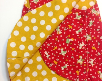 Pinafore, Reversible, size 3-12 months