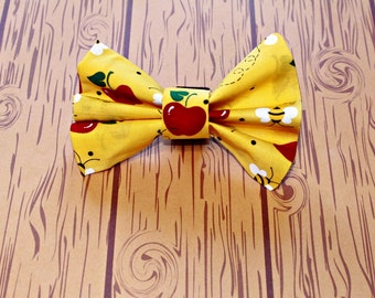 Bow Tie Dog Collar Accessory Apple Bees