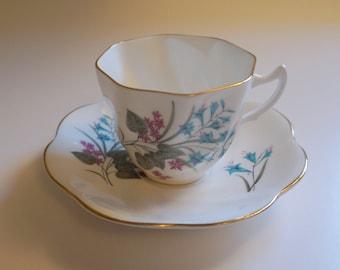 English Tea Cup and Saucer - Floyd Jones Vintage