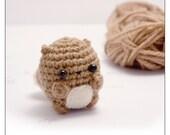 crochet squirrel pattern - digital download amigurumi pattern