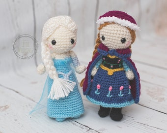 Crochet Elsa Doll Pattern : Popular items for frozen doll on Etsy