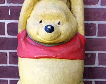 WINNIE the POOH 1970 Store Display Balloon Holder Door Stopper