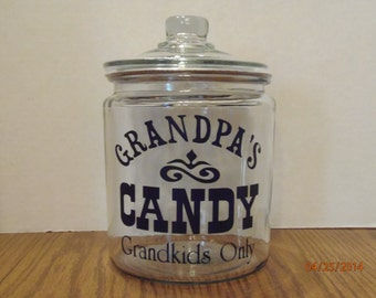 Grandpa's Candy Jar