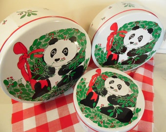 Popular Items For Christmas Cookie Tin On Etsy