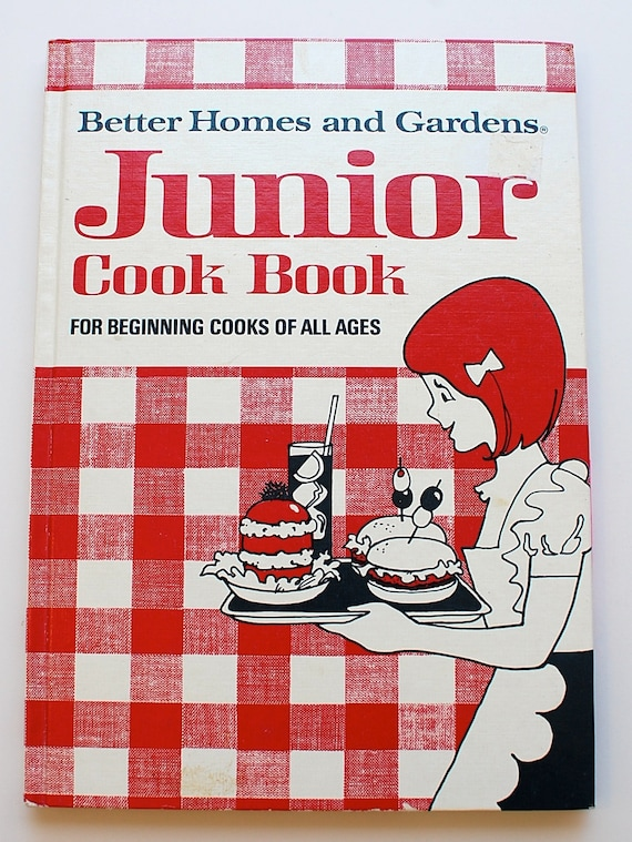 Better homes and gardens junior cookbook 1972 vintage children - Vintage better homes and gardens cookbook ...