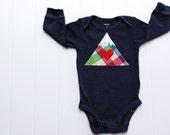 Mountain Bodysuit, Baby Mountain Shirt, Colorado Baby, Ski Baby, Adventure Baby