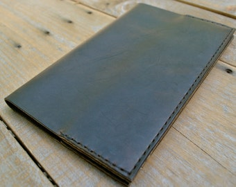 Coffee Leather Medium Moleskine Notebook Cover
