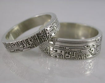 Circuit board ring set