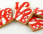Decorated Cookies - Philadelphia - Love - LovePark - 1 dozen