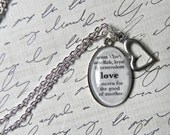 LOVE Definition Necklace