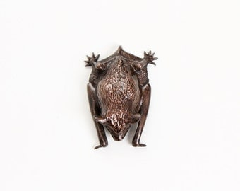 Pipistrelle Bat with wings folded, open edition bronze
