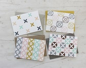 Sandbar Spring - Set of 4 Blank Cards