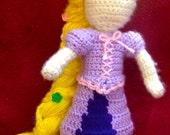 Dress-up Rapunzel
