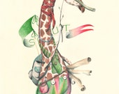 Animal Battle ORIGINAL // Giraffe Scout