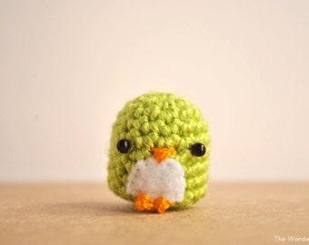 Amigurumi Penguin, Crochet doll, cute keychain, kawaii penguin, gift for teens, kawaii charm, penguin charm, MADE TO ORDER
