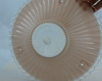 Vintage Light Shade, Three Chain, Ceiling Shade, Pink - MG-225