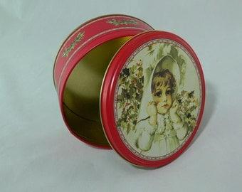 My Winter Hat, Bogart, Round Tin, Trinket Container - MG-065