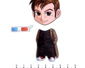Mix and Match Magnets: Tenth Doctor (Doctor Who)