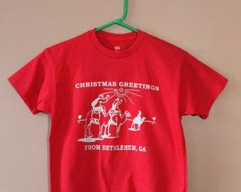 Bethlehem, GA Christmas Tshirt