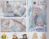 Doll Clothes and Accessories Patterns - Simplicity Crafts #8962 -  Patterns for 18 in Doll Clothes, Tote, Garment Bag, Sleeping Bag