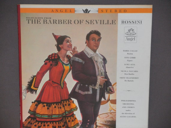 Highlights from The Barber of Seville - Rossini - Maria Callas - Angel ...