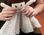 Crochet doll, blanket, Princess Lovey