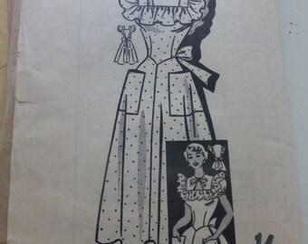 Vintage Anne Adams Mail Order Pattern 4797 Misses Summer Dress Size 14