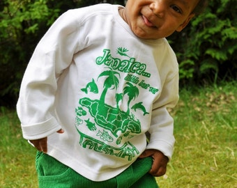 Jamaica likkle but wi Talawah Children T-shirt many versions