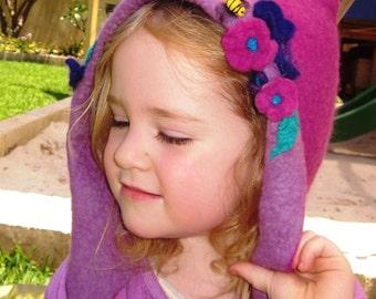 Girls Warm Fantasy Make Believe Hat
