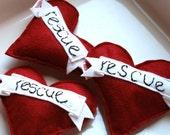 Catnip Cat Toy Rescue Heart