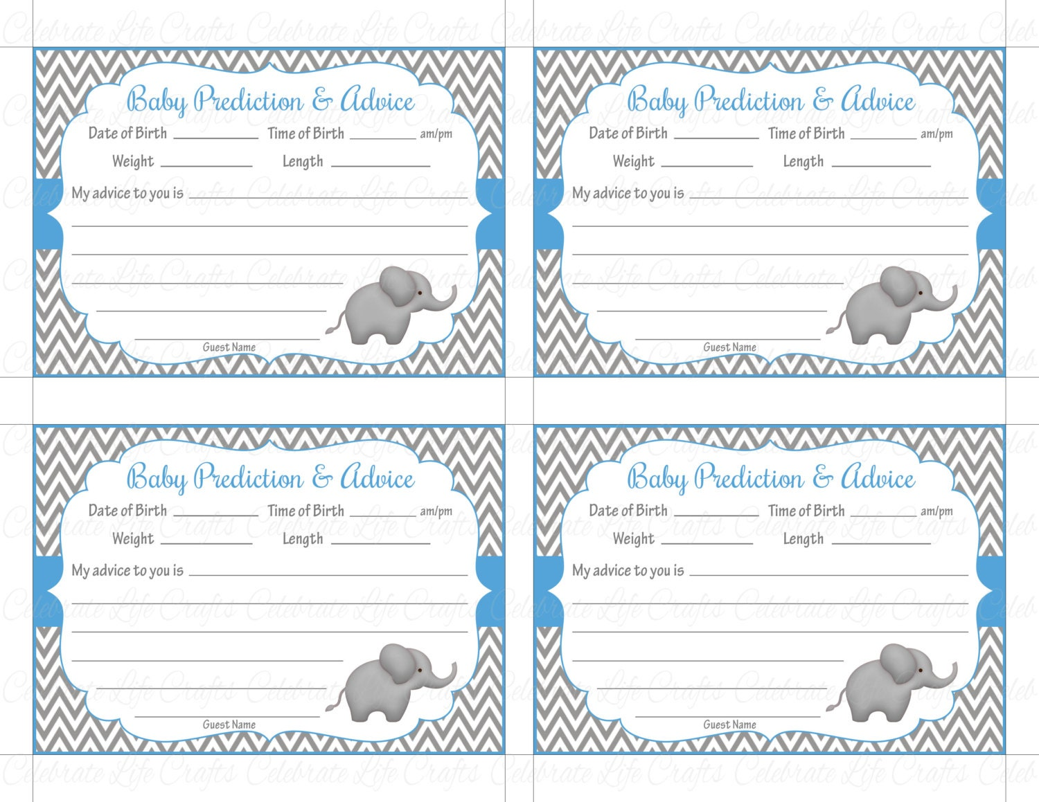 It's just an image of Superb Free Printable Advice Cards for Baby Shower