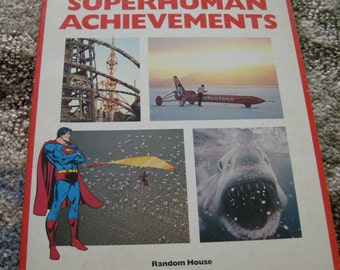 Superman Book of Superhuman Achievements 1981