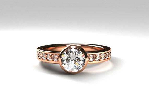 white topaz engagement ring gold ring topaz