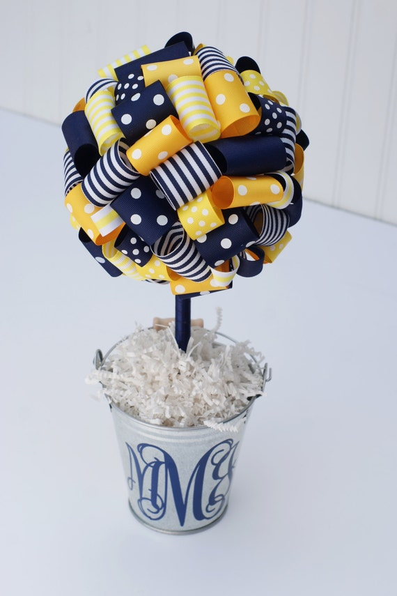 Graduation party centerpiece baby shower