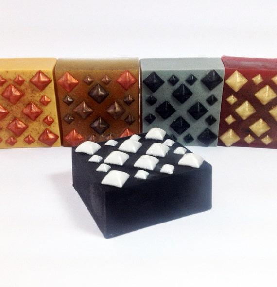 None More Black Licorice - Autumn Soap -1 bar, over 5 oz. Heavy Metal Halloween Soap