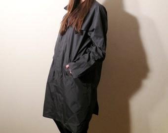 Vintage Mastin Grey Raincoat Made in Italy
