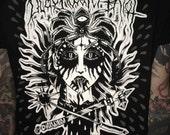 Blackwater/Riot - black metal tee