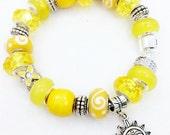 Sun Bracelet, You Are My Sunshine European style Charm bracelet
