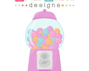 gumball machine bubblegum sugar 1 dollar cute clip art Bubble Gum Graphics bubble gum machine clipart free