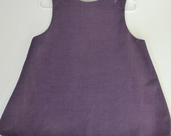 BLANK Corduroy A-line Jumper, READY to MONOGRAM Corduroy A-line Jumper, Girls A-line Jumper, Toddler A-line Jumper