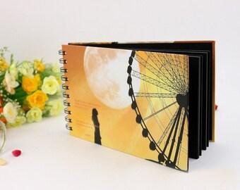 DIY Photo Album - Paper Photo Album - Ferris Wheel Style