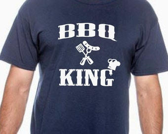 bbq king, bbq shirt, summer shirt, mens bbq shirt, fathers day gift, gift for dad, gift for grandpa, dad birthday, grandpa birthday, bbq